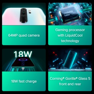 Image 5 - הגלובלי גרסת Xiaomi Redmi Note 8 PRO 64GB ROM 6GB RAM (חדש לגמרי/אטום), note8 פרו Smartphone נייד