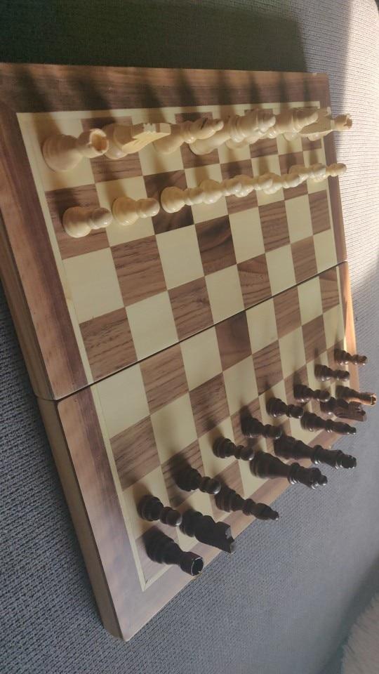 Jogos de xadrez Madeira Conjunto Conjunto