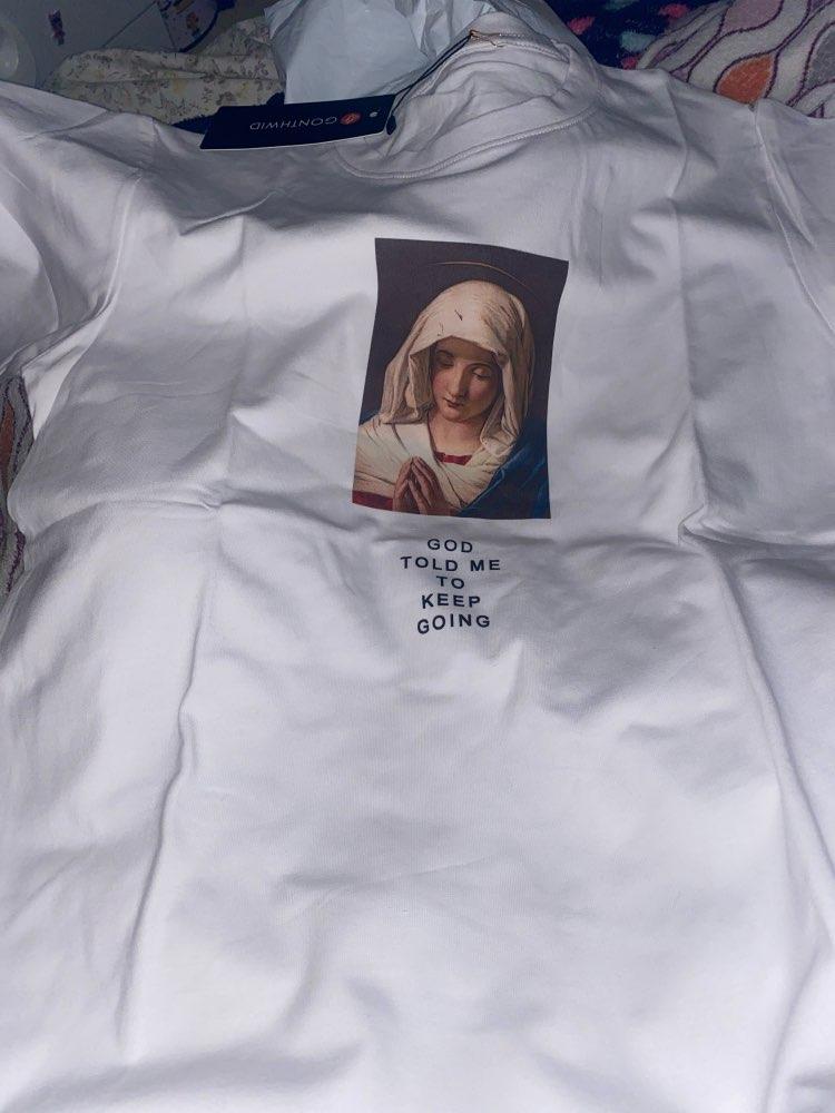 GONTHWID 2020 Men's Virgin Mary Printed Short Sleeve T Shirts Summer Casual Cotton Hip Hopo Tops Tees Fashion Streetwear Tshirts|fashion tshirt|tshirt fashionshort sleeve t shirt - AliExpress