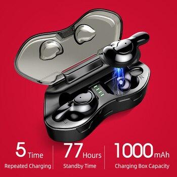 30PCS U-MINI Wireless earphones Sport Running 6D Bass Wireless Bluetooth headset Waterproof earphone With Power Bank
