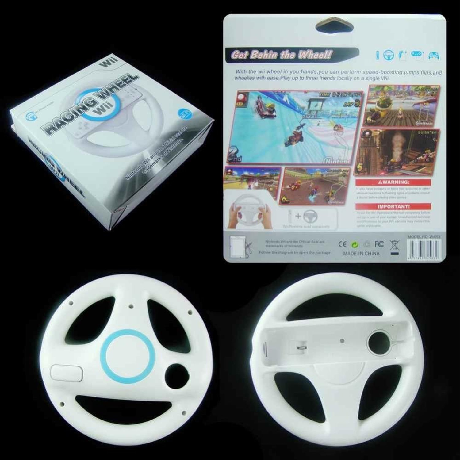 Wii Racing wheel ultimate band wii