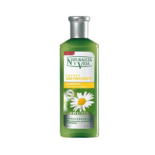 Shampoo Sensitive Naturaleza Y Vida (300 Ml)