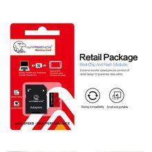Wansenda – carte Micro SD originale, 8 go/32 go/16 go/64 go/128 go, TF, adaptateur SD gratuit avec emballage, vente au détail