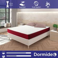 DORMIDEO-Mattress Viscoelastic Thunder 2 heights with Supersoft and Strech tissue toilet, Breathable and antiskid