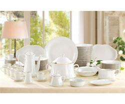 A BDC DISHES Porcelain VERSAILLES 42 Pieces with Gilt Edged with Great DISTINCTION Elegance AND Touch