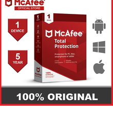 McAfee Total Protection 2026 Multi 1 Dispositifs 5 Ans