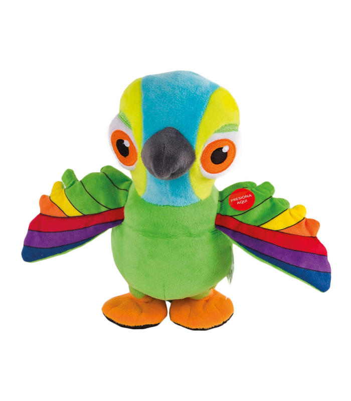 Interactive Stuffed Lorito Pepe Toy Store Articles Created Handbook