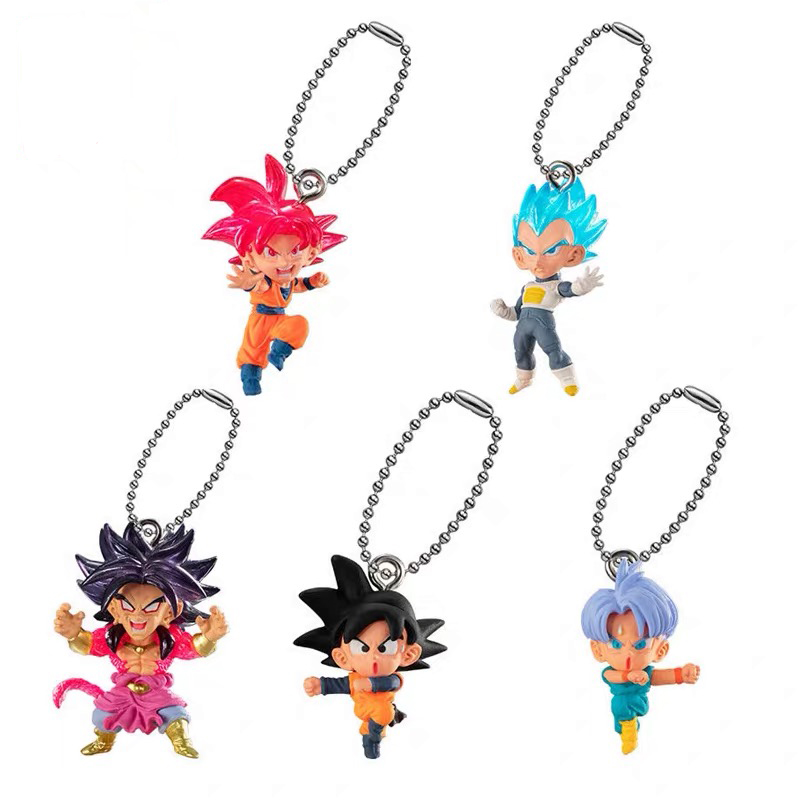 <font><b>Dragonball</b></font> super UDM 31 The Burst Gokou Goten Broly PVC <font><b>figure</b></font> model Figural Dolls key chain image