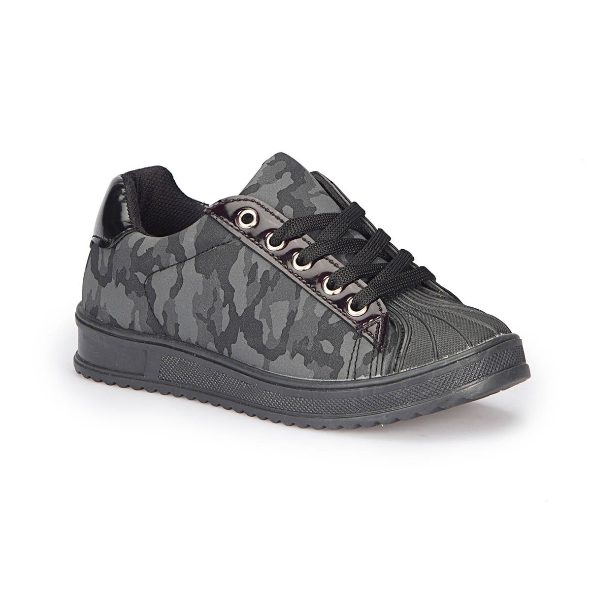 FLO 72.509747.F Camouflage Color Male Child Sneaker Shoes Polaris