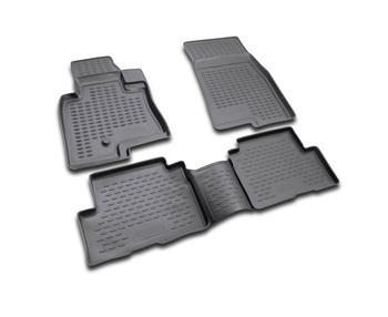 Floor mats for Mitsubishi Pajero III 5D 1999-2006 car interior protection floor from dirt guard car styling tuning decoration