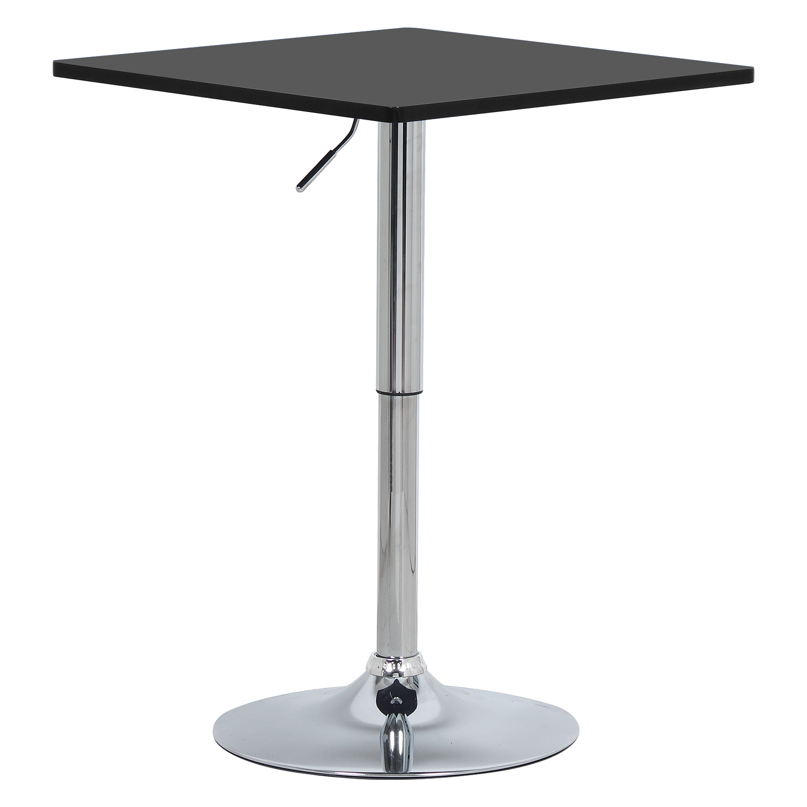 1PC MDF Bar Table Height Adjustable 360 Degree Swivel Bistro Table Party Table for Kitchen Living Room Bar Furniture