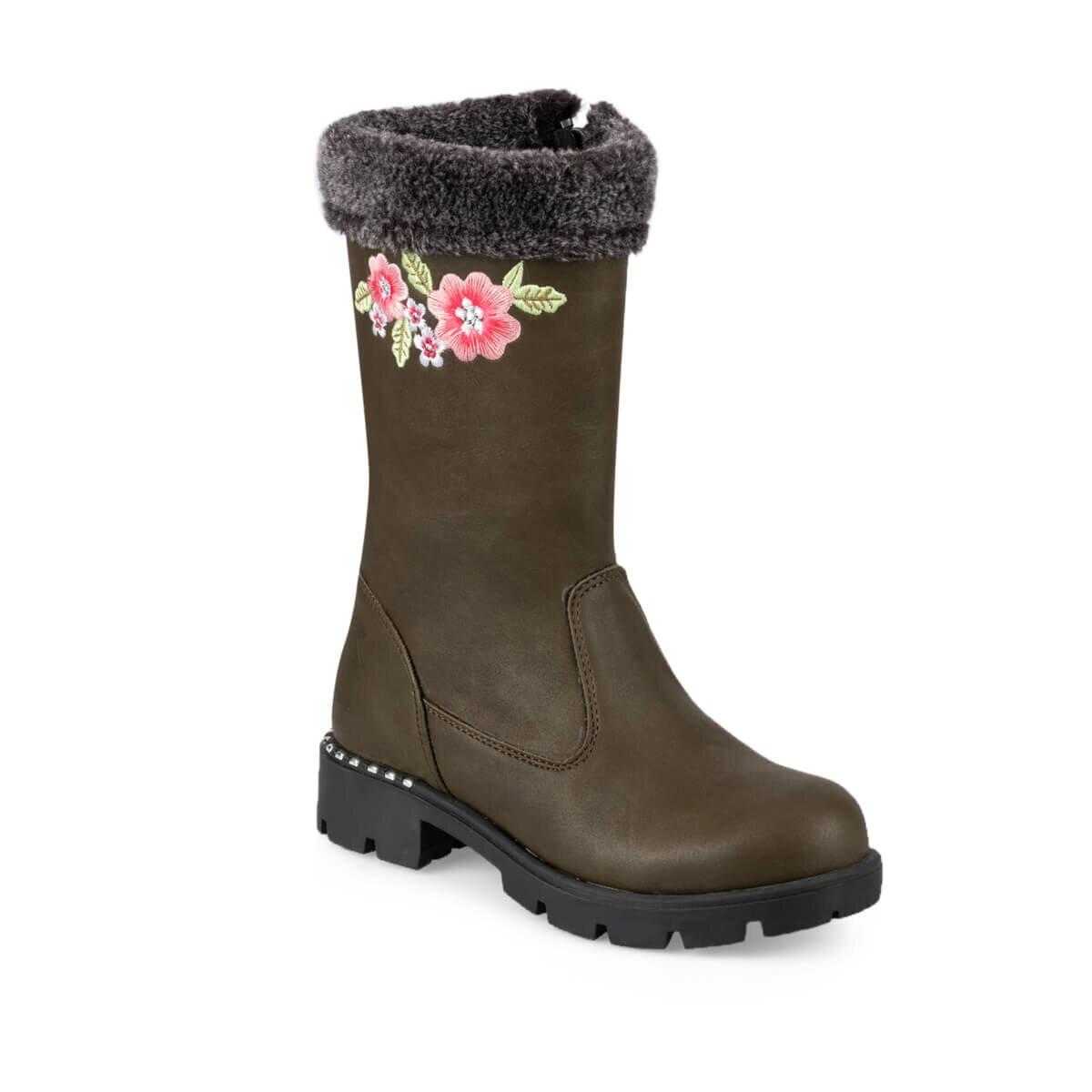 FLO ELIZA 9PR Khaki Girl Child Boots KINETIX