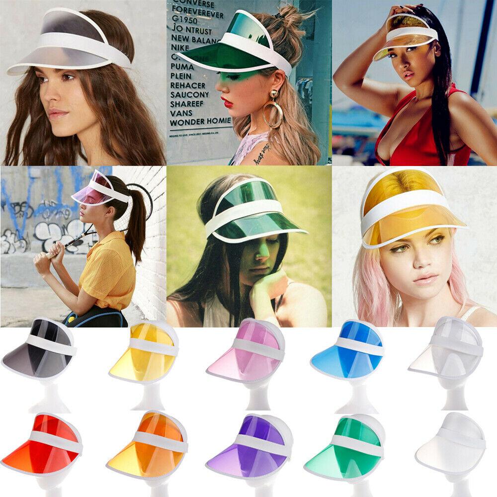 New Fashion Sun Visor Hats Adjustable Sports Tennis Golf Headband Cap Unisex Men Women Hat Vizor Beach Hats Sunshade