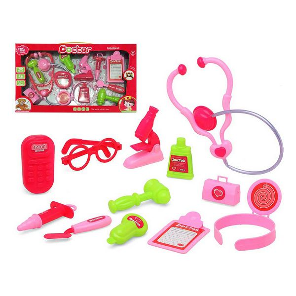 Toy Medical Case With Accessories Pink 118617