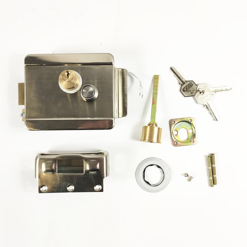 Door Lock Electrical Door Lock Opening Door Security System Doorbell Intercom Locker Access Control Electric Lock