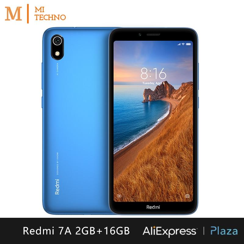 Xiaomi redmi 7a smartphone (2 gb de ram dura, 16 gb de rom dura, telefone móvel, livre, novo, barato, sim duplo, 4000 mah bateria, android) [versão global]