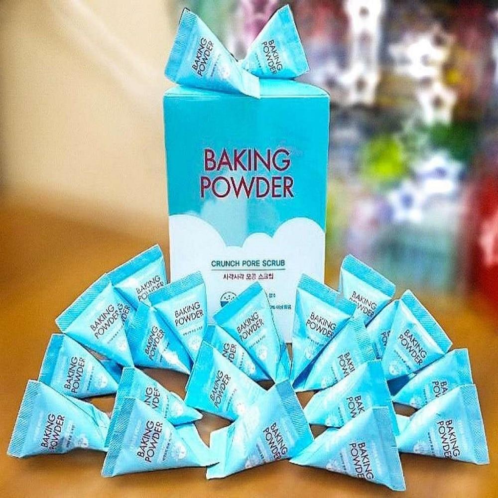 Face Scrub Pyramid Baking Powder (Korea) 24 PCs Per Pack