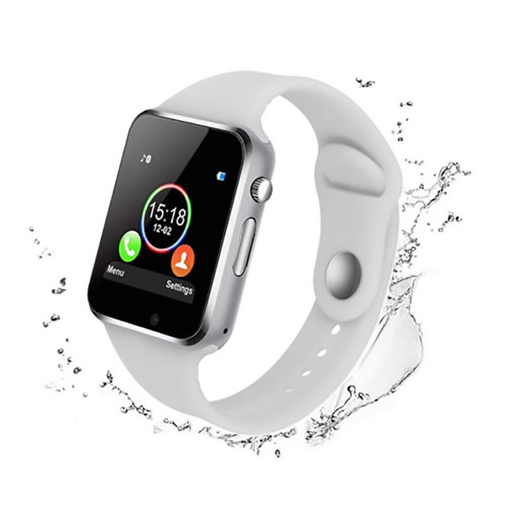 Smart Watch Bluetooth Wrist Sport Pedometer With SIM Camera Waterproof For Android IOS Intelligent Body Sensor Dropship