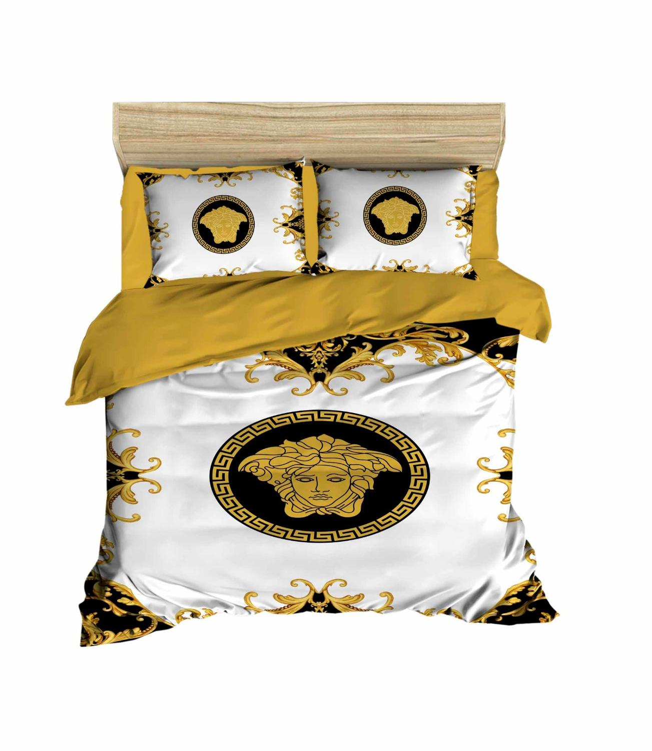 Versace style Turkish Cotton Bedding