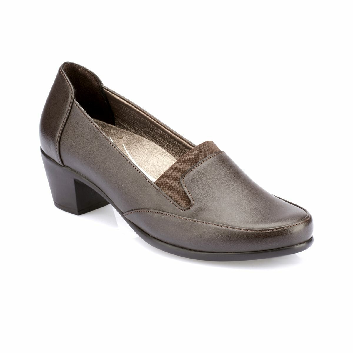 FLO 82.100120.Z Brown Women 'S Shoes Polaris 5 Point