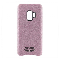 Case Samsung S9 Chic & Love CHCAR007 Glitter Pink