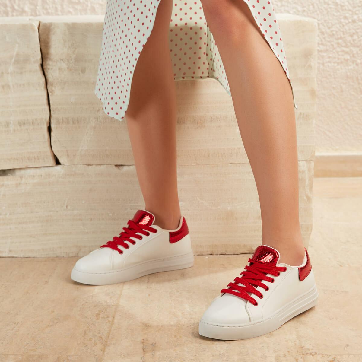 FLO GEMI01Z SKIN White Women 'S Sneaker Shoes BUTIGO