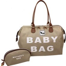 BABY BAG COMFORTABLE CARE FOR NEWBORN AND LITTLE CHILDREN, DESIGNED FOR MOM USE