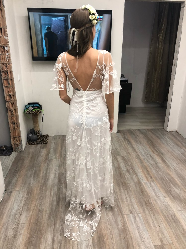 Women Long Dress Sexy Deep V Neck Casual Party Dress Backless Sleeveless White Dresses Vacation Wear photo review