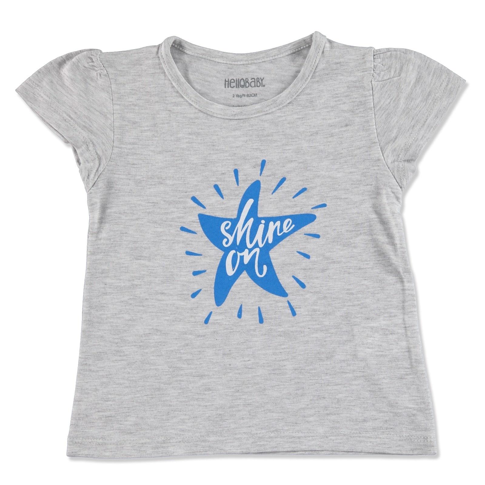 Ebebek HelloBaby Basic Baby Short Sleeve T-shirt