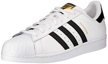 Adidas Superstar, men's sneakers, White (Ftwwht/Blue/Red), 41 1/3 EU