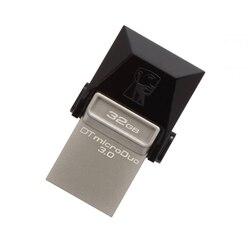 Pamięć USB i Micro Kingston DTDUO3 32 GB USB 3.0 czarny szary