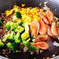 """#美食说出""""新年好""""#北极虾酱油炒饭的做法图解10"""