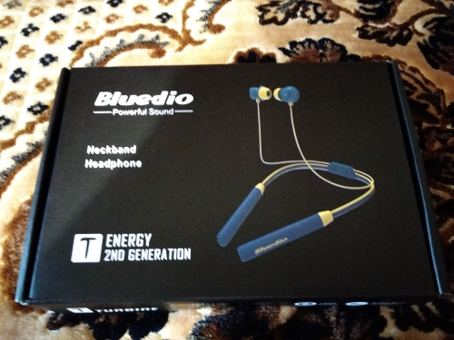 Bluedio TN2 Sports Bluetooth earphone with active noise cancelling /Wireless Headset  for phones and music-in Phone Earphones & Headphones from Consumer Electronics on AliExpress