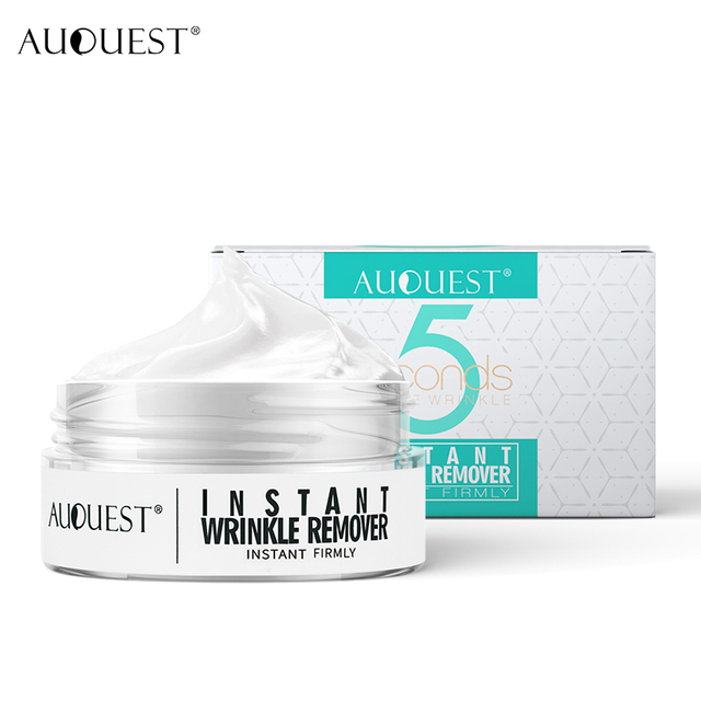 AuQuest 5 Seconds Wrinkle Remove Instant Face Cream Skin Tightening Hydrating Eye bag Lifting Anti-aging Pre-makeup Skin Care
