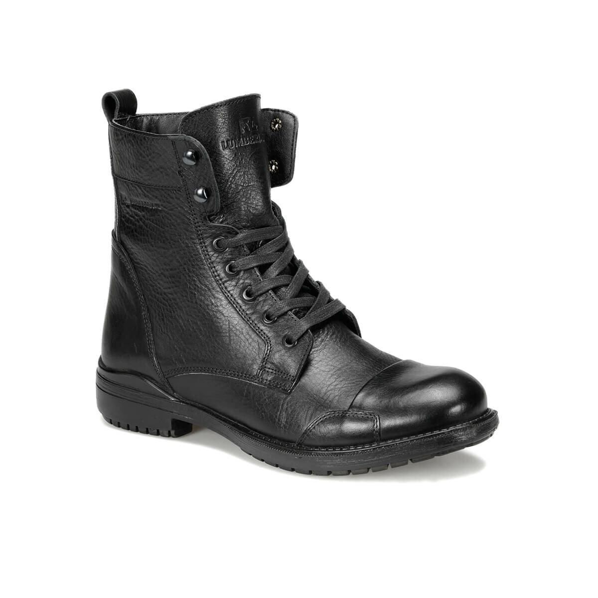FLO MOTOREX 9PR Black Men Boots LUMBERJACK