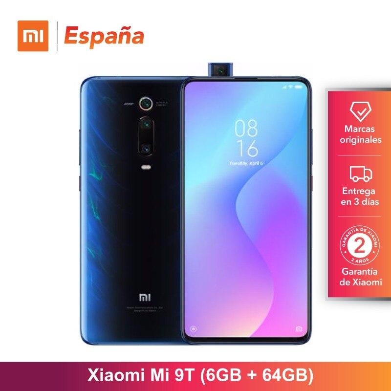 Xiao mi mi 9T (64GB ROM, 6GB RAM, Triple cámara de 48 MP, android, Nuevo, Libre) [Teléfono Movil Versión Globale para España] Smar