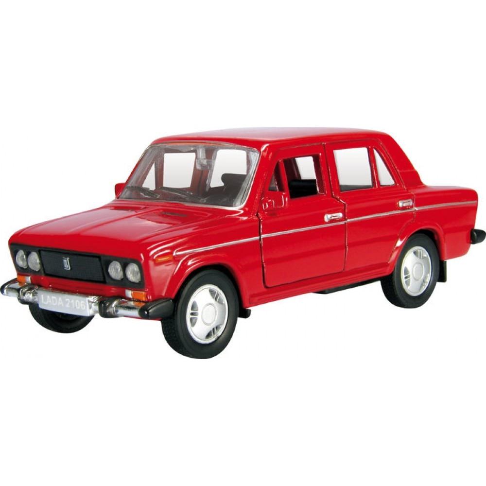 Машинка Autogrand ВАЗ LADA 2106 гражданская 36, русская серия