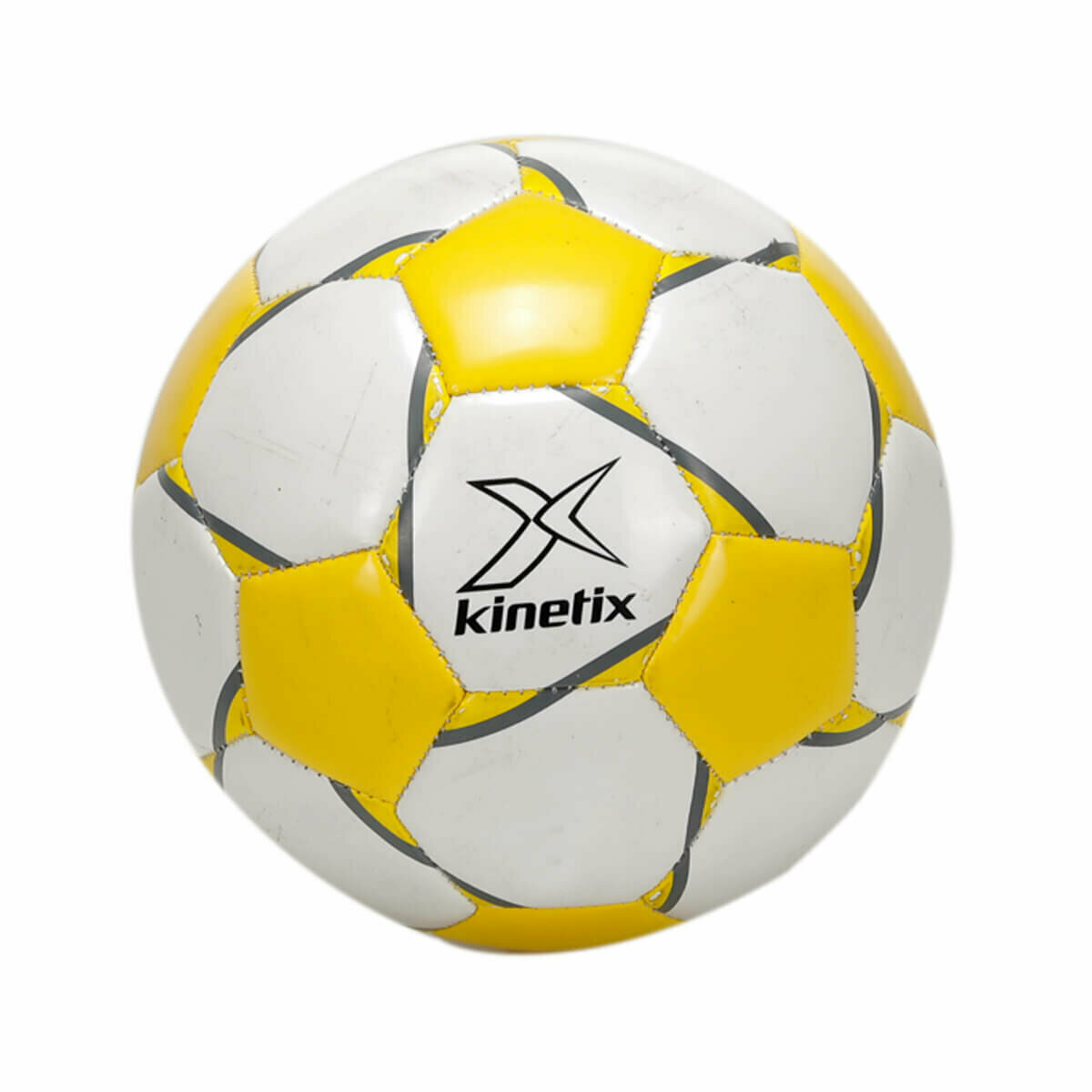 FLO Soccer BALL Yellow White Multicolour Unisex Training Professional Size Match Sports Soccer Ball Футбольный мяч PAULO KINETIX