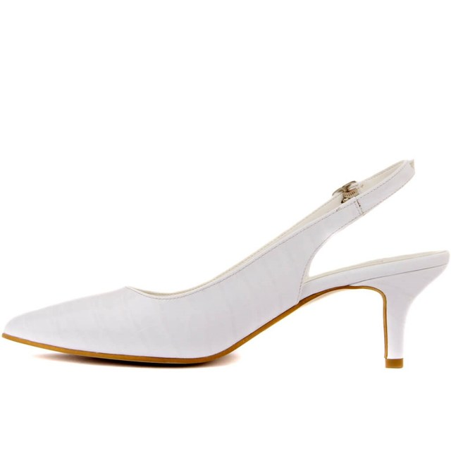 Moxee-Kroko Patterned Women's Stiletto Shoes