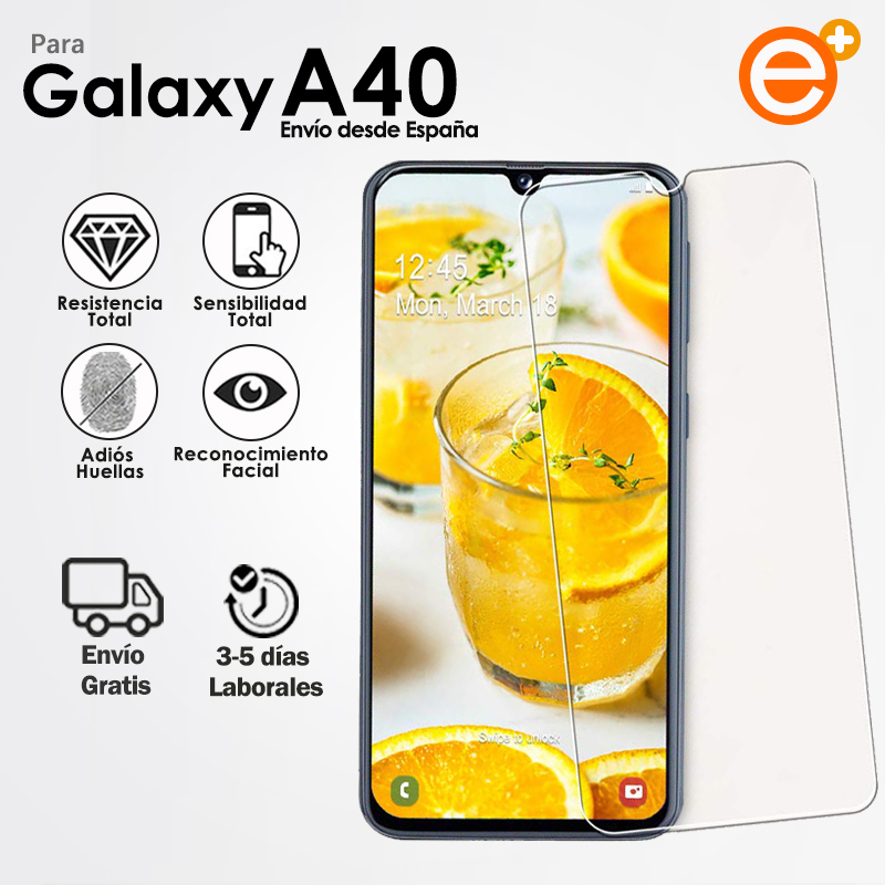 Tempered Glass Screen Protector for Mobile Samsung A40 Security glass protection for Smartphone E-PLUS
