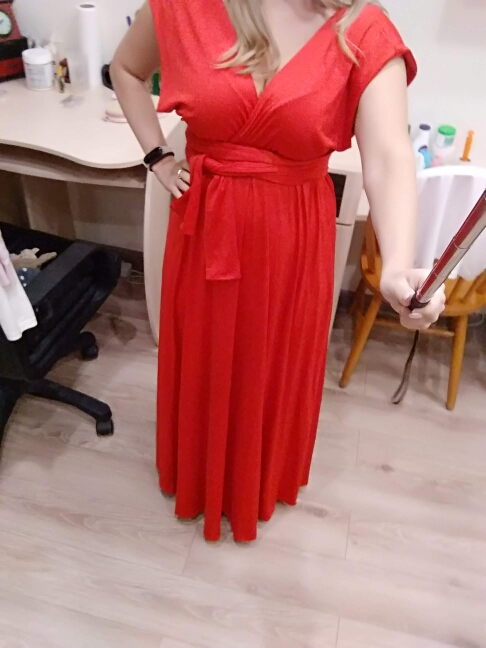Sexy Women Multiway Wrap Convertible Boho Maxi Club Red Dress Bandage Long Dress Party Bridesmaids Infinity Robe Longue Femme photo review