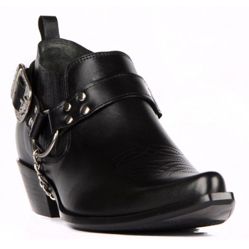 FootCourt- Black Cowboy Boots For Men Pointed Toe Genuine Leather Motorcycle Boots Men Fashion Designers Boots Handcrafted Shoes vivodsicco men boots genuine leather black pointed toe luxury fashion classic business office formal ankle boots men shoes male