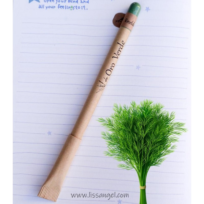 Ecological Pen With Dill Seeds