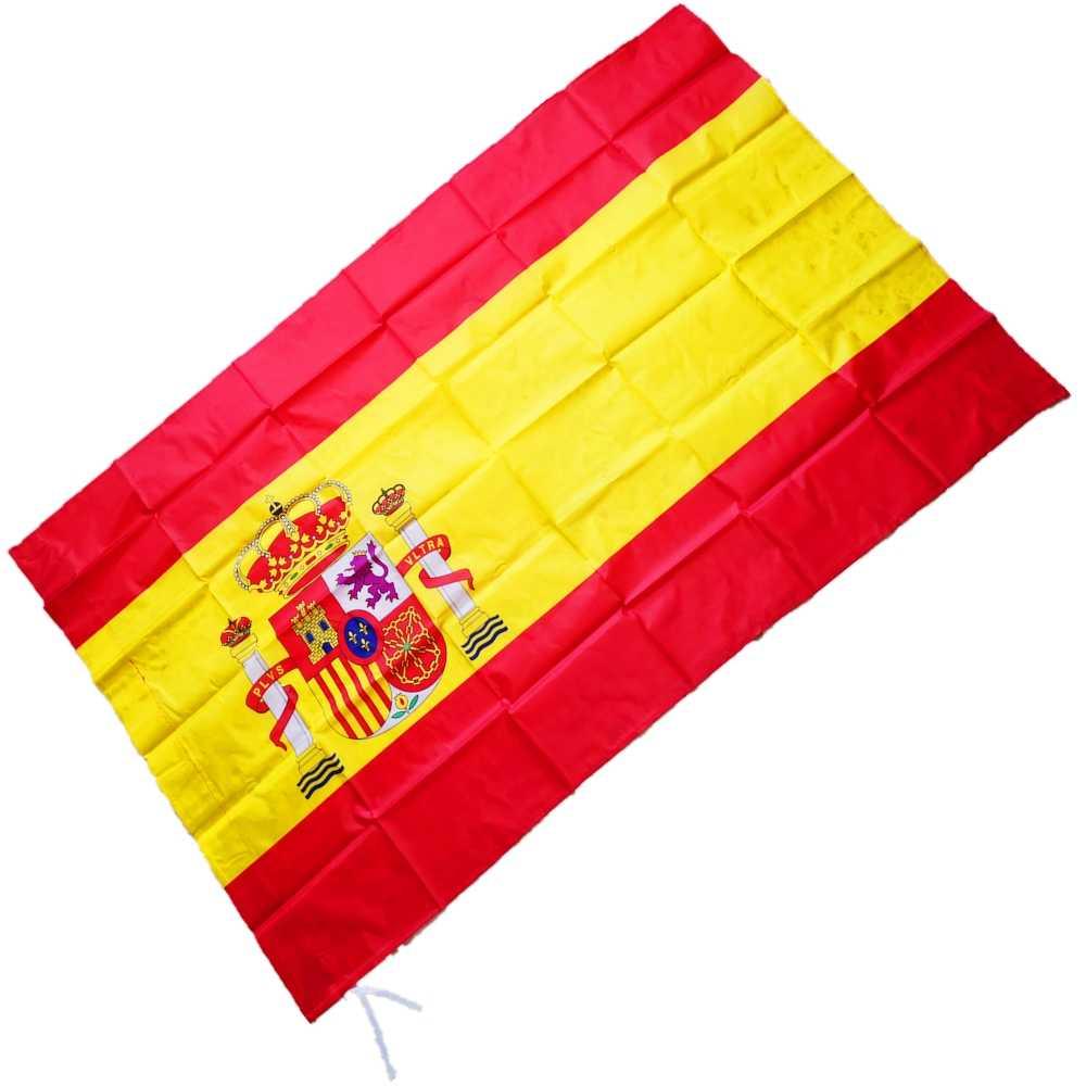 Bandera España Grande Española 90x150cm Nacional Españoles Viva España Roja
