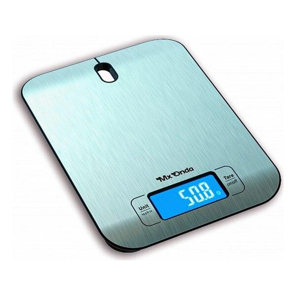 مقياس المطبخ الرقمي Mx Onda MXPC2102 LCD الفولاذ المقاوم للصدأ-في موازين المطبخ من المنزل والحديقة على