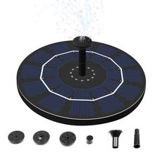 1PC Solar Fountain Floating Garden Water Fountain Pool Pond Decoration Solar Powered Fountain Water Pump Drop Shipping