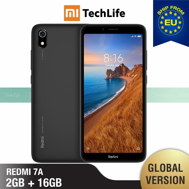 Global Version Xiaomi Redmi 7A 16GB ROM 2GB RAM (Brand New / Sealed) Redmi 7a, Redmi7a