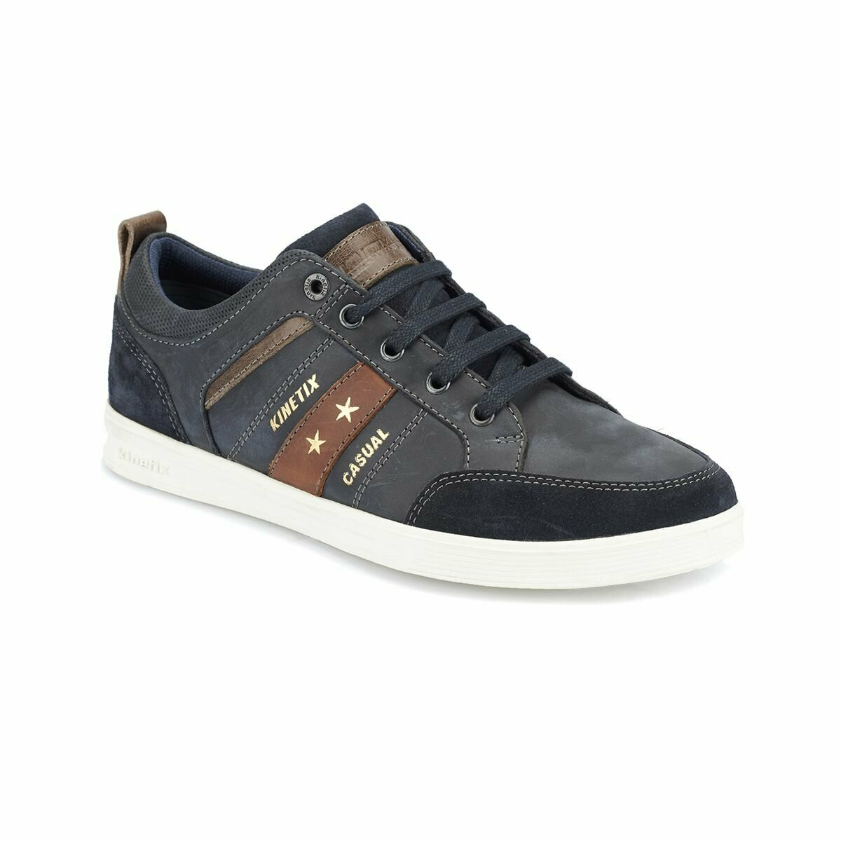 FLO NEONA Navy Blue Men 'S Shoes KINETIX