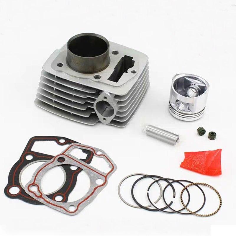 Kit de joint d'anneau de Piston de cylindre de grand alésage reconstruit pour DERBI Cross City 125 2007-2013 150cc