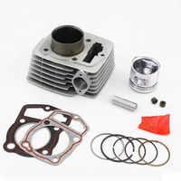 Motorcycle Cylinder Piston Ring Gasket Rebuilt Kit for DERBI Cross City 125 2007-2013